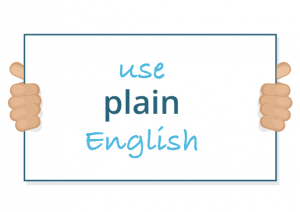 Use plain English